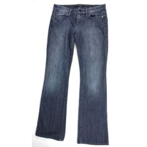 Joe's Lover Hedrin Embroidered Low Rise Jeans
